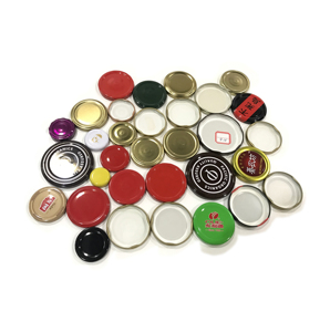 Glass Bottle Red Cap Metal Lug Cap for Standard Model Can Be Customized 30#38#43#48#53#58#63#66#70#82#