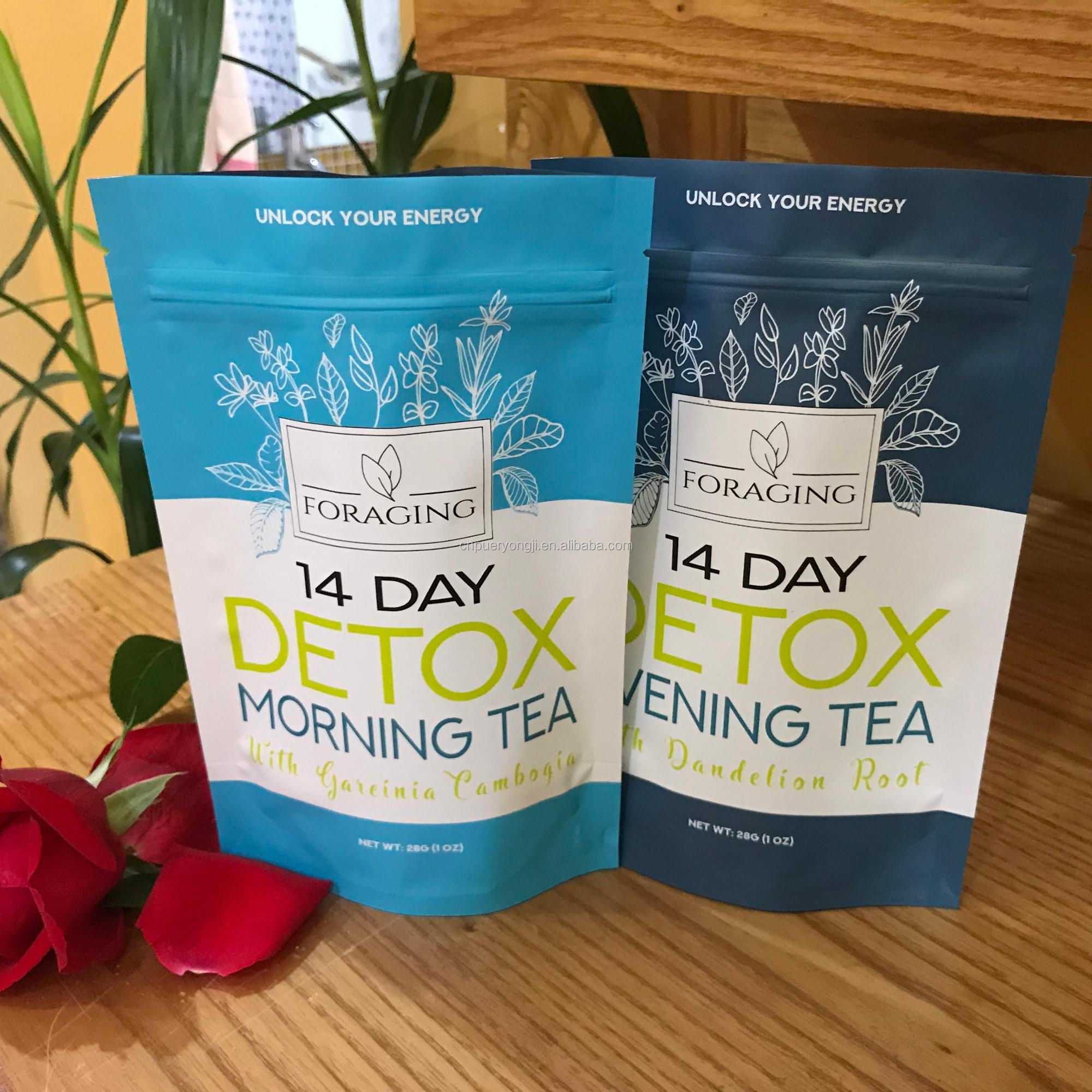 2 packs 28 days naturally slim detox tea Slimming skinny tea Flat tummy tea - 4uTea | 4uTea.com