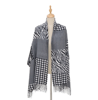 Pashmina Feel Thick Scarves Customize wholesale Women Winter Acrylic scarf shawl