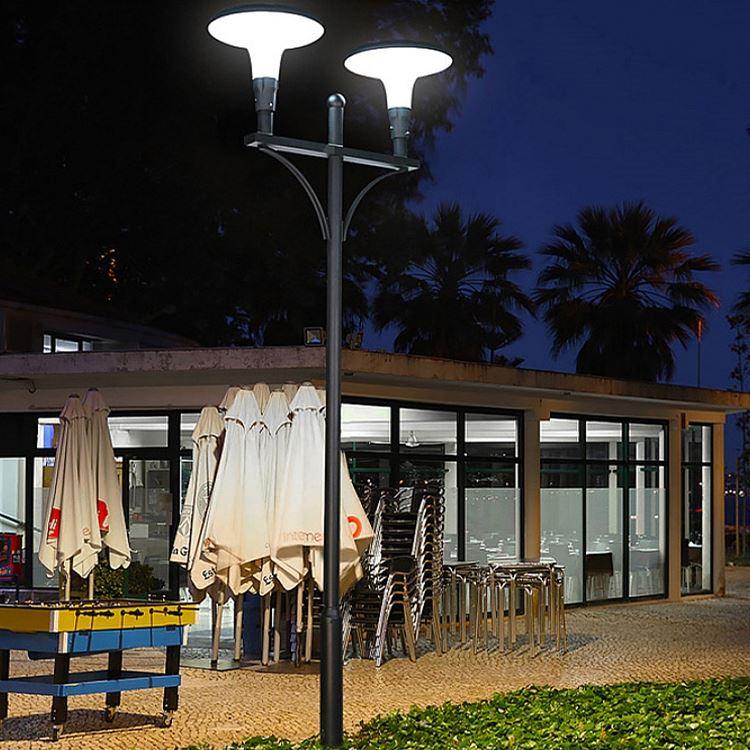 Post coloured solar lights garden 5w 10w 15w 20w 30w