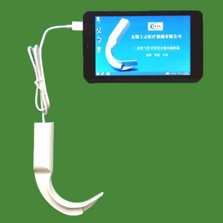 Digital videolaryngoscope
