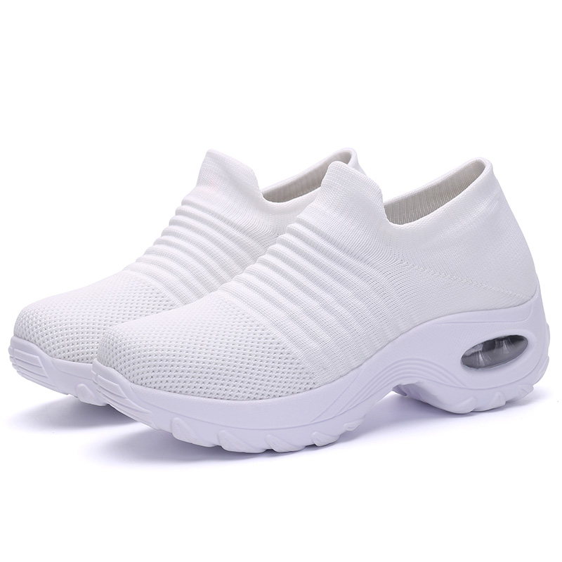 Big size 35-42 Ladies Fashion Sock Tennis Sneakers Breathable Comfort Youth Girls Walking Women Slip on Running Shoes Sports