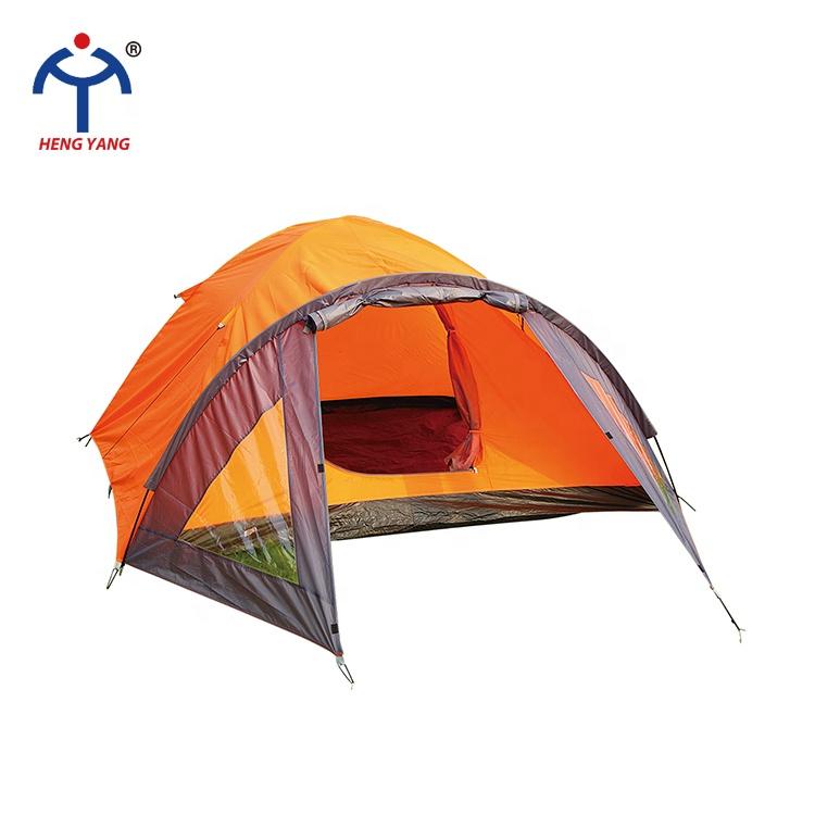 OEM جودة عالية متعددة الوظائف سهلة التشغيل للماء 4 شخص 2 طبقة التخييم خيمة