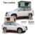 HOMFUL 24-months Guarantee Travelling Foldable Car Roof Top Tent Hard Shell with free ladder