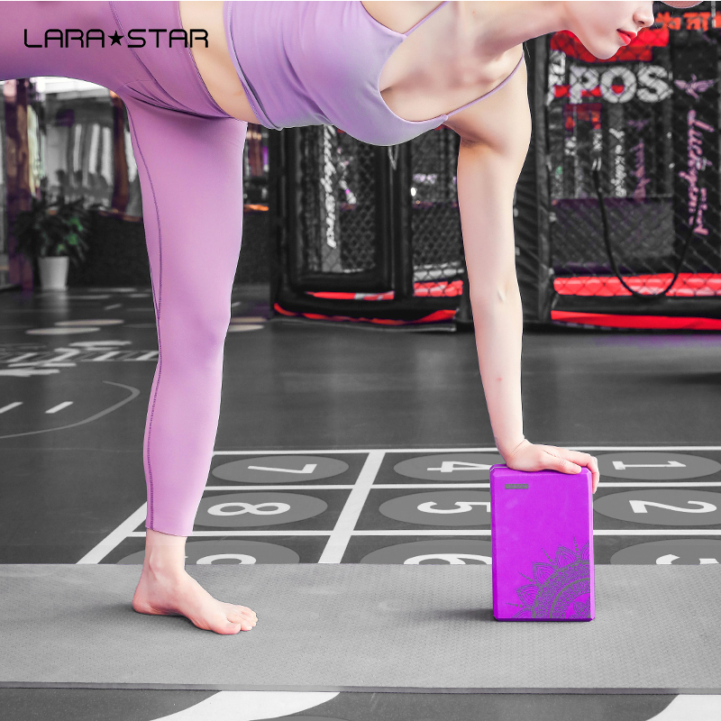 Wholesale High Density Eco Friendly Custom Logo Printed  Yoga Block