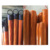 Factory direct supply 22mm 23mm 25mm broom handle gun grained pvc coated wooden handle