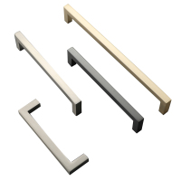 New Modern Furniture Handles and Square Knobs, U Shaped Cupboard Handles Z-2061