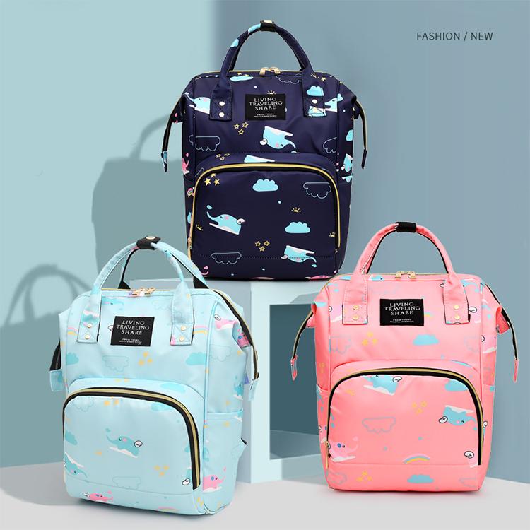 2020 fashion floral muster große kapazität wasserdichte baby mutterschaft tasche windel rucksack mumie mama tasche