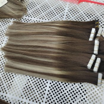 Wholesale Factory Price Natural Real Remy Human Tape On Hair Extension