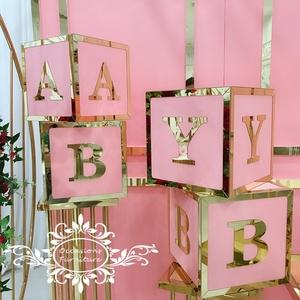 Baby Blocks Pink for Girl