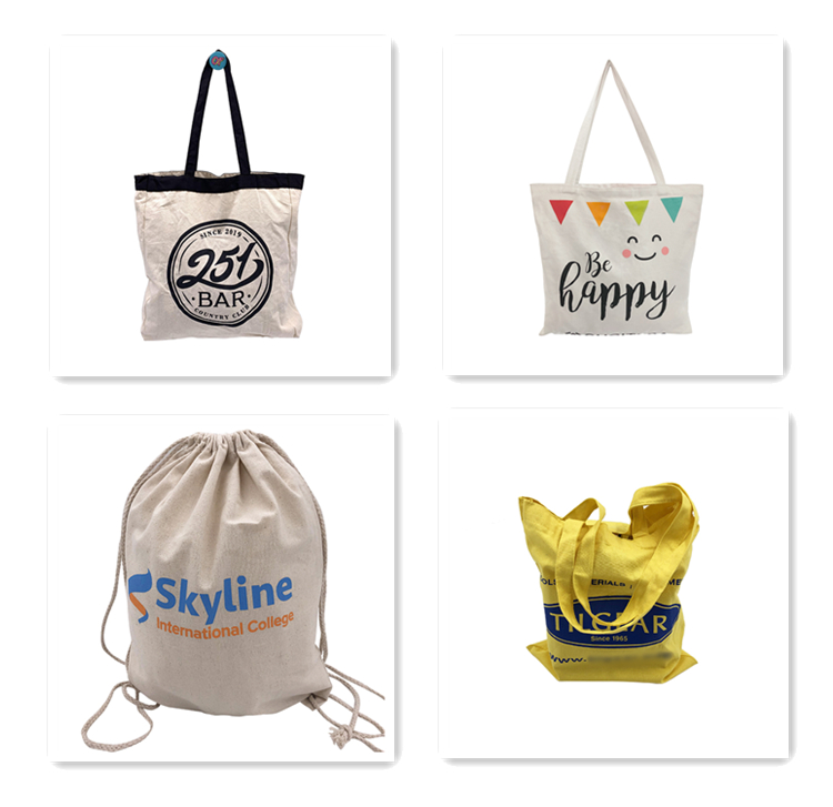 High Quality Customized 100%  Cotton Canvas Bag