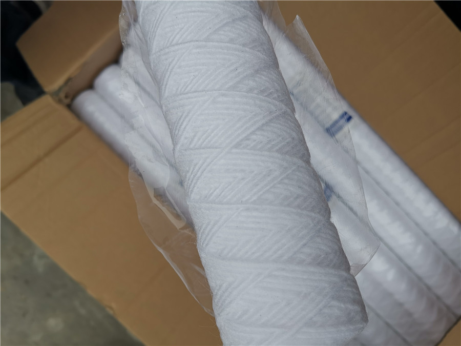 product-Ocpuritech-20 inch string wound cartridge water filter sediment-img