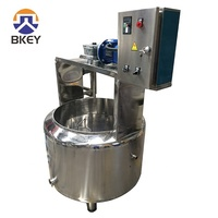 industrial small scale milk and cheese vat for white cheese production making machine line