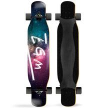 ARDEA длинная доска для танцев 117 см профессиональная доска для катания на коньках уличная четырехколесная доска для скейтборда с разноцветно...(Китай)