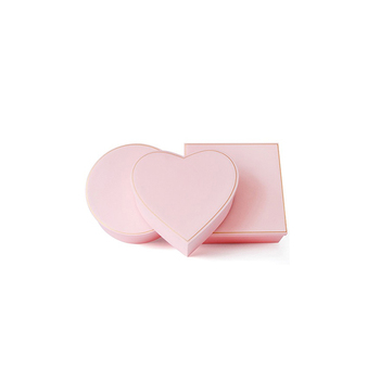 Pretty Large Special Custom Logo Heart Shape Paper Box Flower Packaging Box For Gift