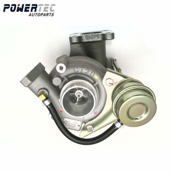 Full turbocharger 17201-54030 CT20 17201-54030 turbo full for Toyota Landcruiser TD 2429ccm 2L-T wholesale turbocharger