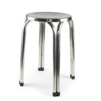 Thick mould , thick board ,strengthening rib Stainless steel stool