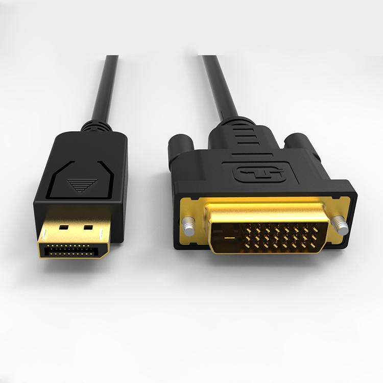 Stabiele Verbinding 1080p dp naar dvi converter DP naar DVI-D monitor kabel