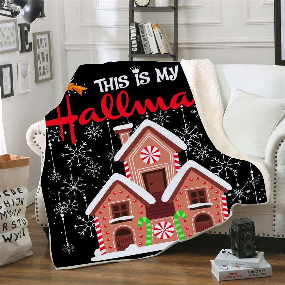 Wholesale Hallmark Christmas Movie Blanket - Buy Christmas Movie Blanket,Hallmark Christmas ...