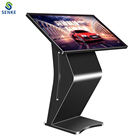 32/43/55 inch senke LCD touch screen digital signage display standing touch kiosk