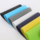 Soft colorful polypropylene spunbonded embossed non-woven fabrics for bag making