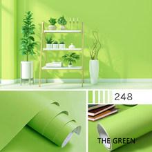 ПВХ одноцветные обои самоклеющиеся обои для стен общежития водонепроницаемый спальня гостиная ремонт украшения стены стикер(Китай)