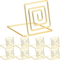 Square shape wire place card holder for Wedding ,Dinner Parties ,Food signs ,restaurant