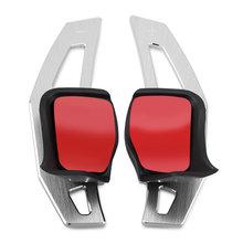 Автомобильные аксессуары рулевое колесо сдвиг весло для VW Tiguan Golf 6 MK5 MK6 Jetta GTI R20 R36 CC Scirocco Shifter расширение(China)