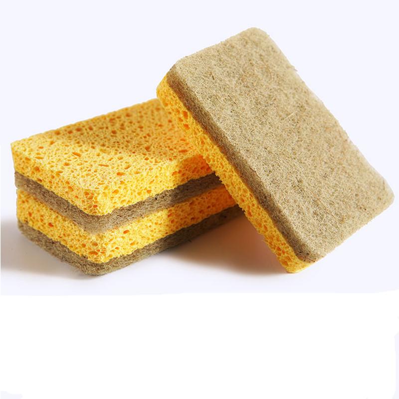 Écologique En Gros Fiber De Coco Naturelle Cellulose Éponge Pour Cuisine