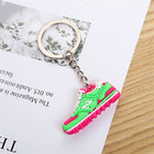 High-Grade plastic rubber silicone sport shoes keyrings multicolor sneaker soft pvc keychain 3d