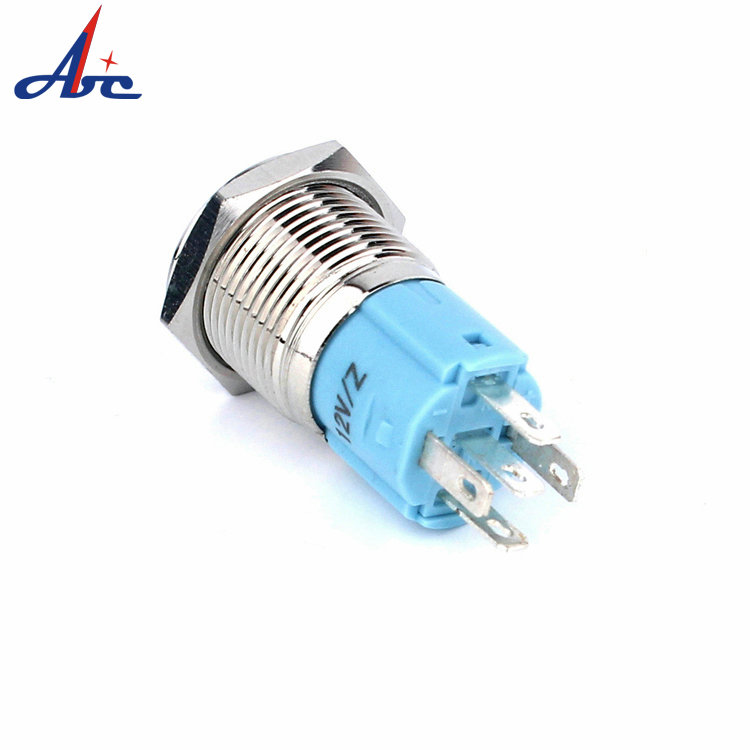 Momentary Push Button Switch Wiring Popular 16mm Blue Manual Guide