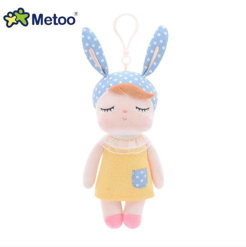 23 см кукла Metoo Angela набивные плюшевые игрушки животные Дети для девочек мальчиков Kawaii детские игрушки мультфильм кролик подвеска на рюкзак(Китай)