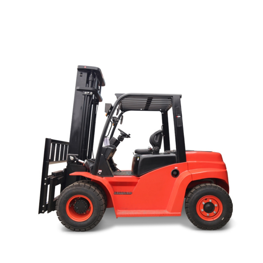 Forklift China 2019 Good Price Rough Terrain Off Road Hangcha 5 Ton Diesel Forklift