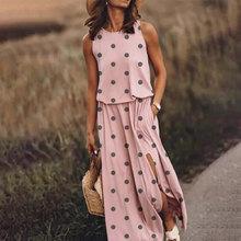 Лоскутное ДРАПИРОВАННОЕ длинное платье с разрезом, женское платье с большим подолом и круглым вырезом, модное женское платье без рукавов, л...(Китай)