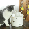 Large capacity USB interface constant temperature heating ceramic pet drinking water cat and dog pet water dispenser