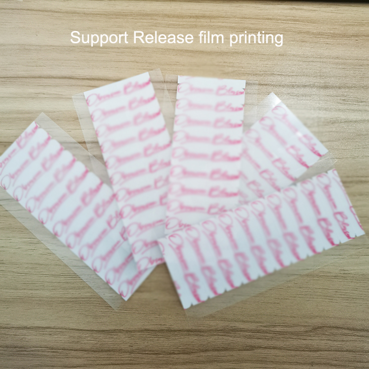 1cm*2cm double side tape strong hair extension wigs support transparent printing film medical tape hair extension