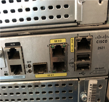 used Cisco 2921 Router
