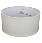 new trim drum taupe Ivory white mini natural lampshade