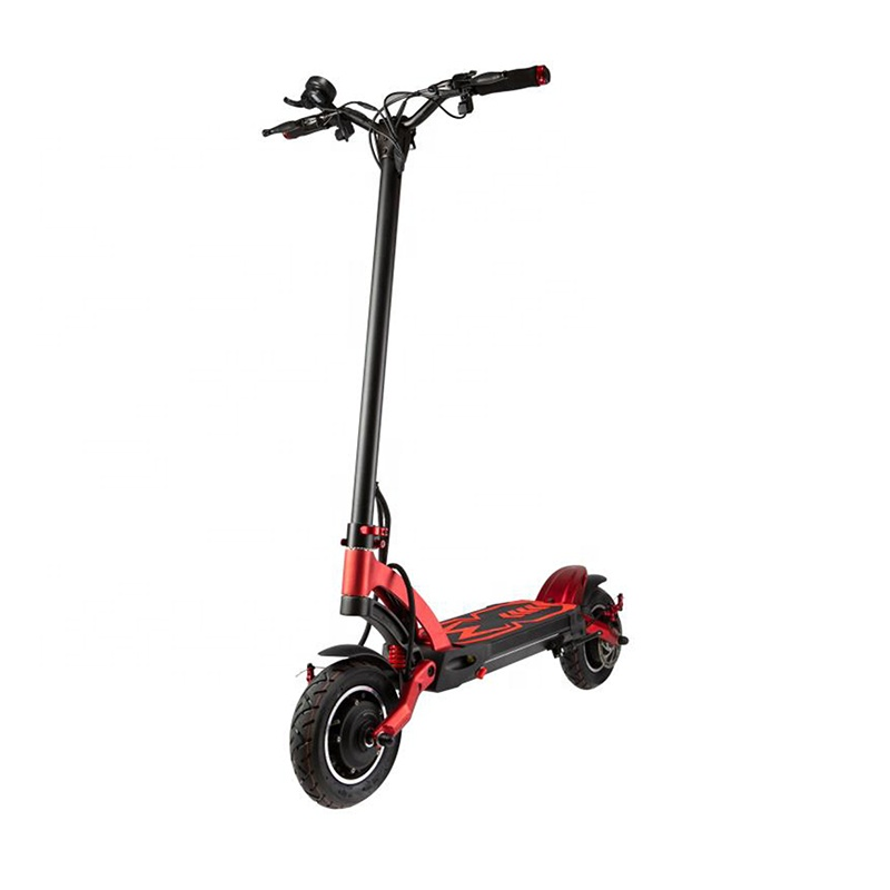 Hot selling new Zero 10 inch 24.5 AH Lithium Battery 2000w electric scooter on city road, Black