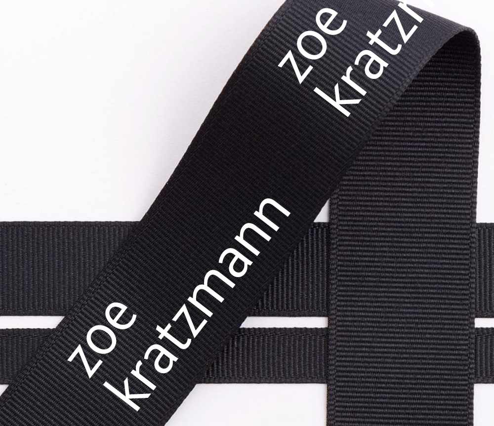screen printed embossed logo custom grosgrain ribbon with logo for gift wrapping celebration