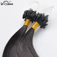 Alibaba Online Shopping Website European Nail Hair Extension Fusion Micro Link Hair Supplier