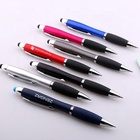 multipurpose twist stylus touch logo pen ballpoint for android