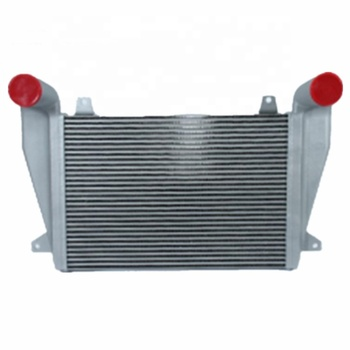 Aluminum Bar and Plate Heavy Truck Charge Air Cooler