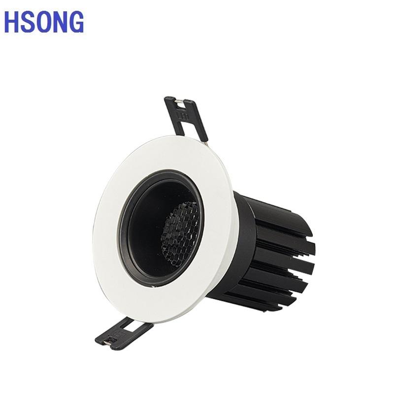 Original manufacturer Recessed spot light COB downlight heavy duty spot light 5W 7W 10W 12W 15W 20W 30W Led downlight dimmable