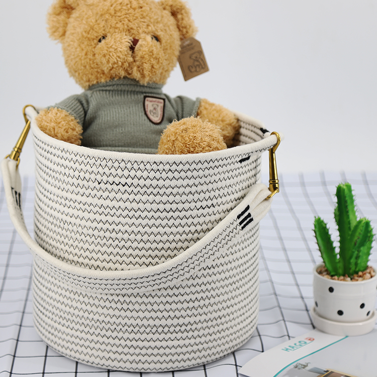 <strong>Bathroom</strong> products cotton hanging organizer <strong>storage</strong> <strong>basket</strong>