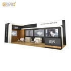 Trade Show Booth Exhibition Booth And Stall Design IZEXPO 30mins EASY Setup GIRL Portable Exhibition Stand Trade Show Booth Custom Stall