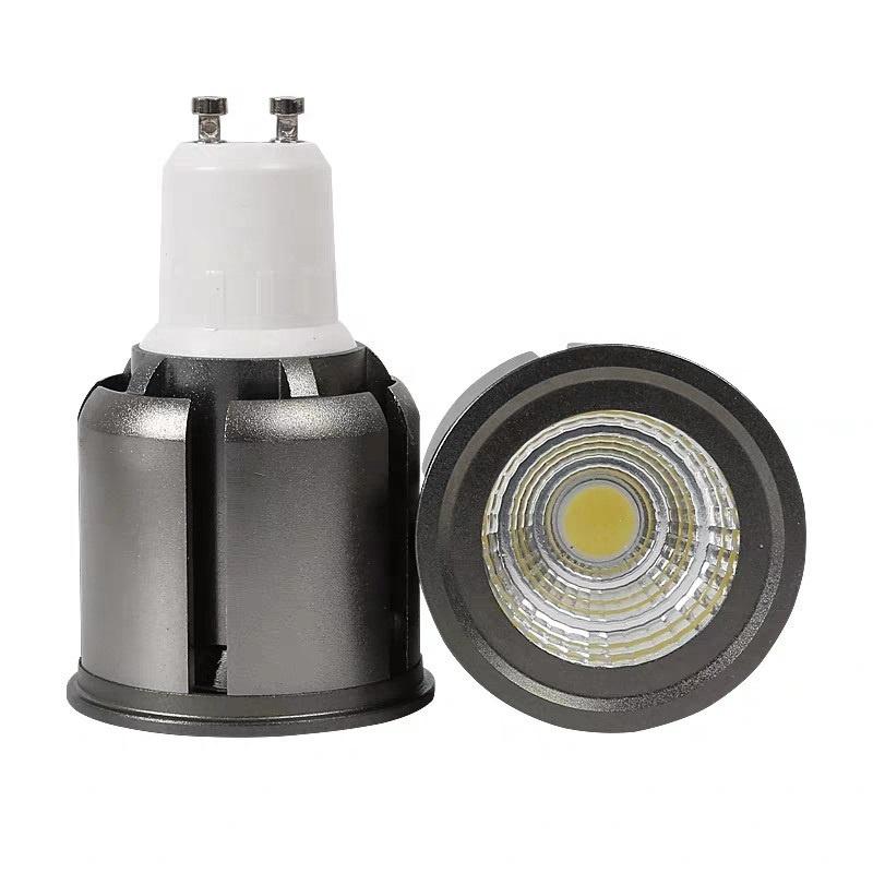 12v 24v dc ac Mr16 GU5.3 5w gu10 cob led ceiling spotlight