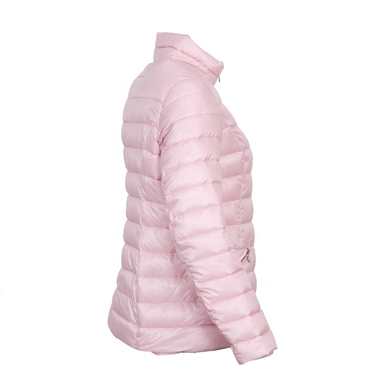 Wholesale winter clothing ladies plain down bomber climbing jackets and coats