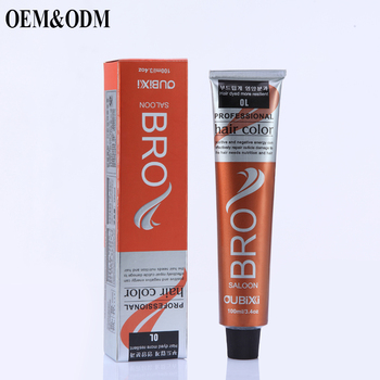 OEM ODM Private Label Free Samples Best Henna Organic Red Hair Dye Colour