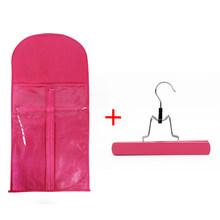 Alileader, лучшее качество, переносная сумка для хранения париков с вешалкой, посылка, чехол для костюма, сумка для человеческих волос/конский хв...(Китай)
